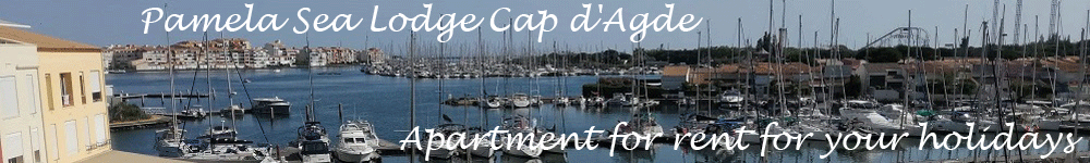 Apartment rental Cap d'Agde