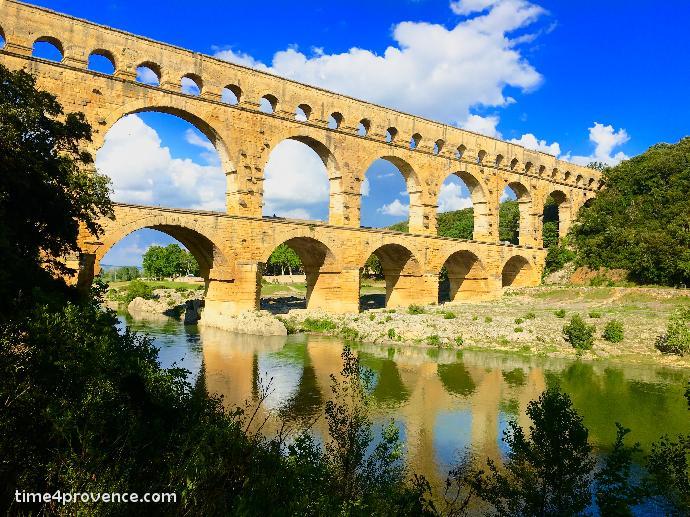 Pont du gard aqueduc romain